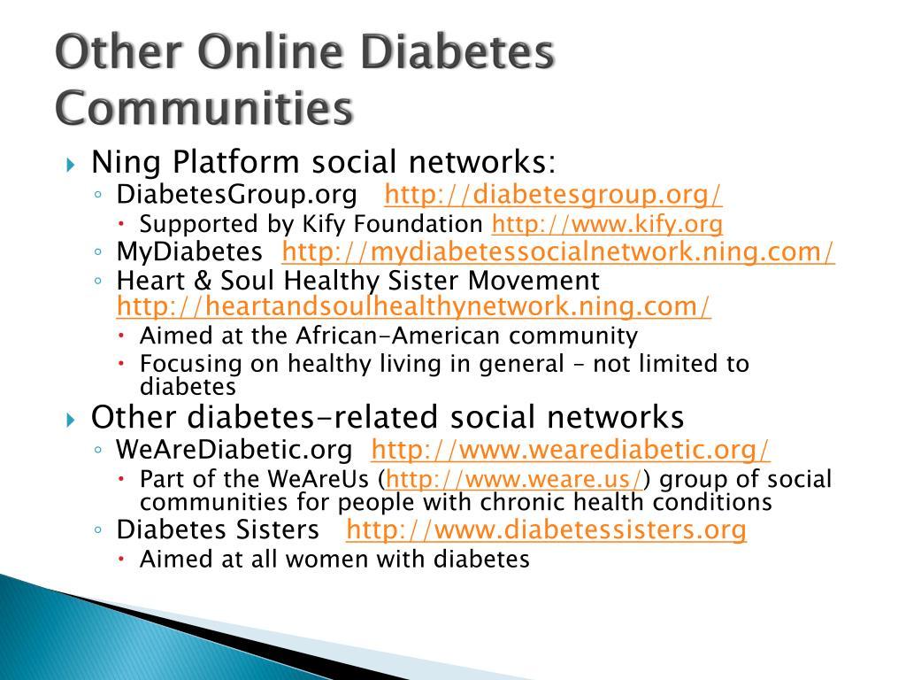 Other Online Diabetes Communities