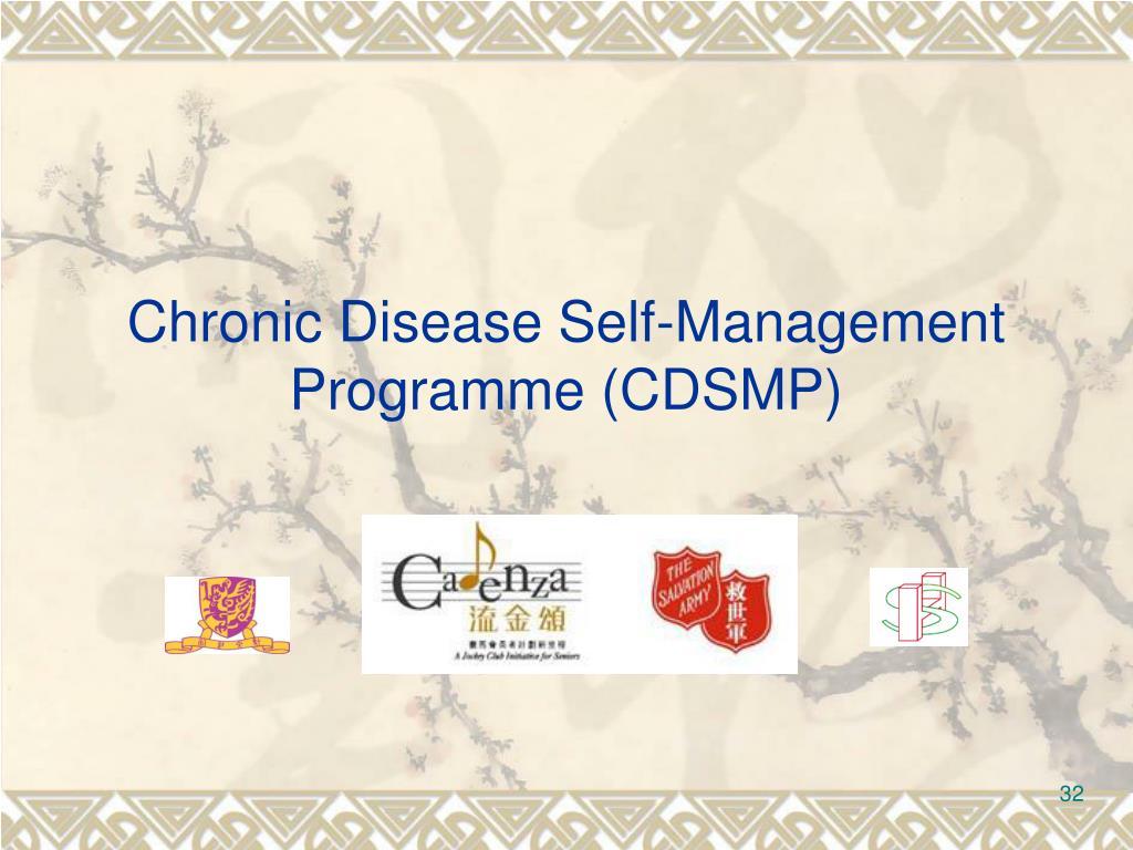 Chronic Disease Self-Management Programme (CDSMP)