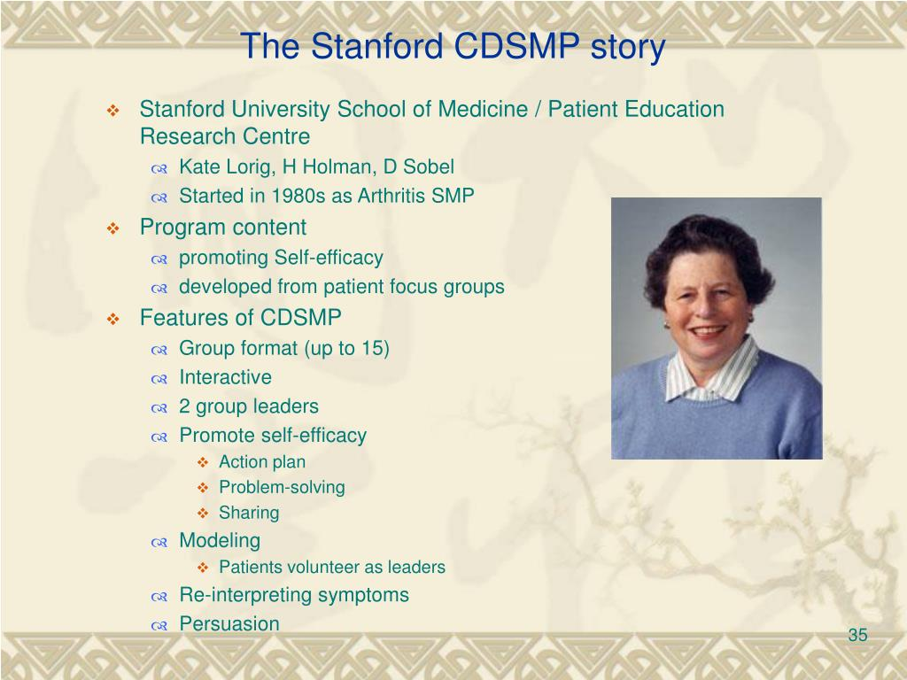 The Stanford CDSMP story