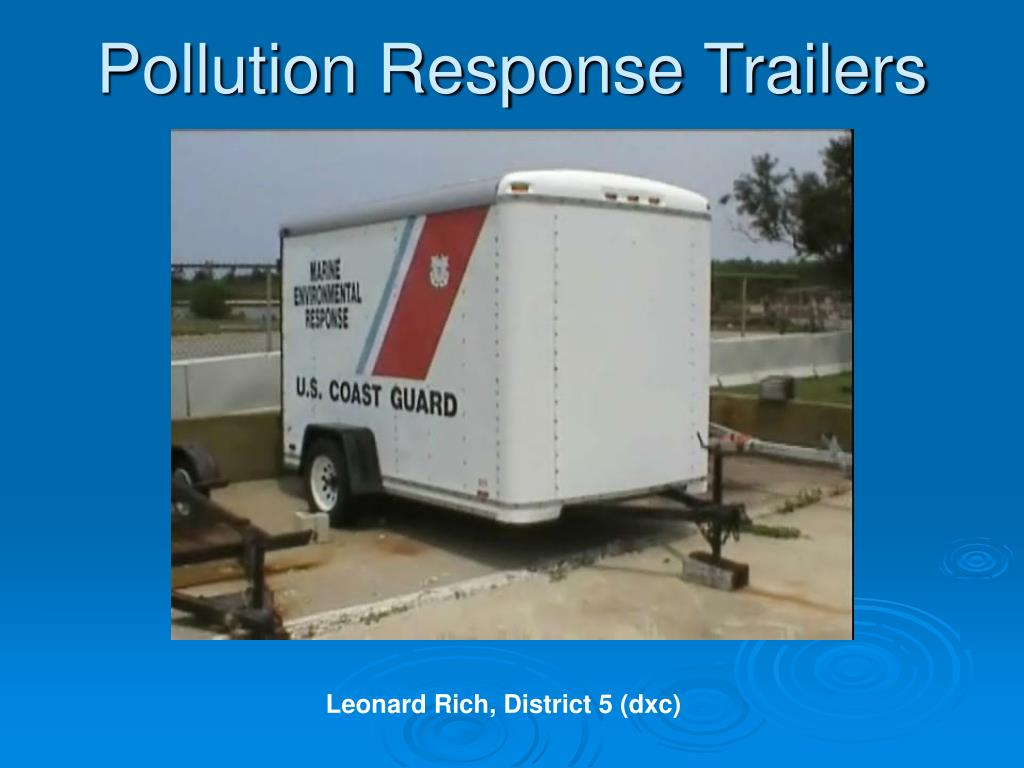 pollution response trailers l.