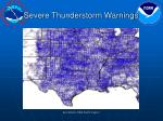 severe thunderstorm warnings16