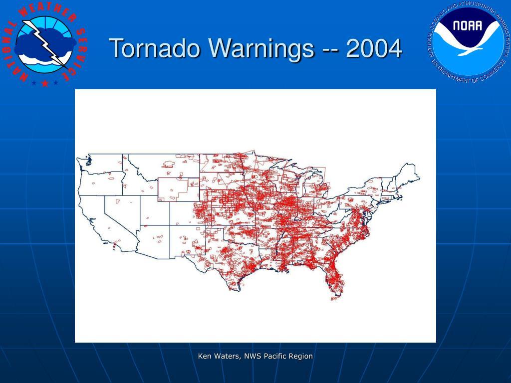 Tornado Warnings -- 2004