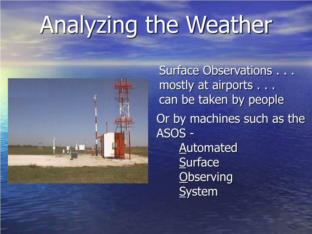 Analyzing the Weather