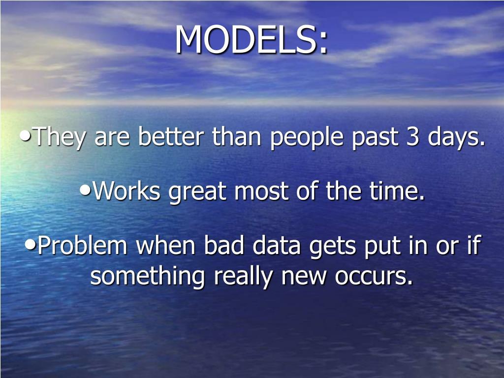 MODELS: