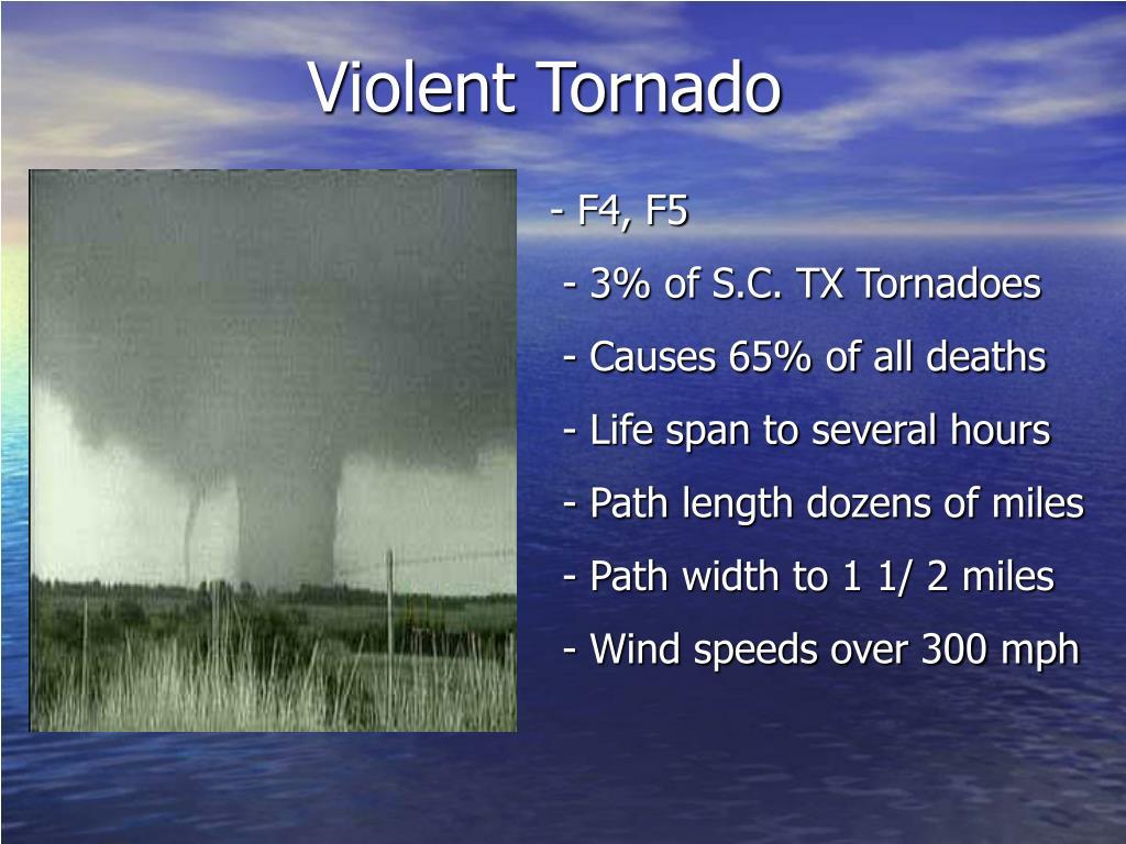 Violent Tornado