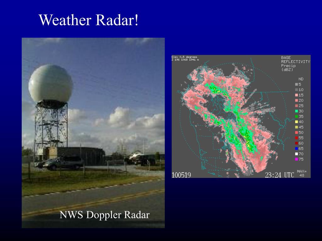 Weather Radar!