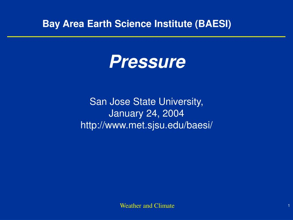 bay area earth science institute baesi l.