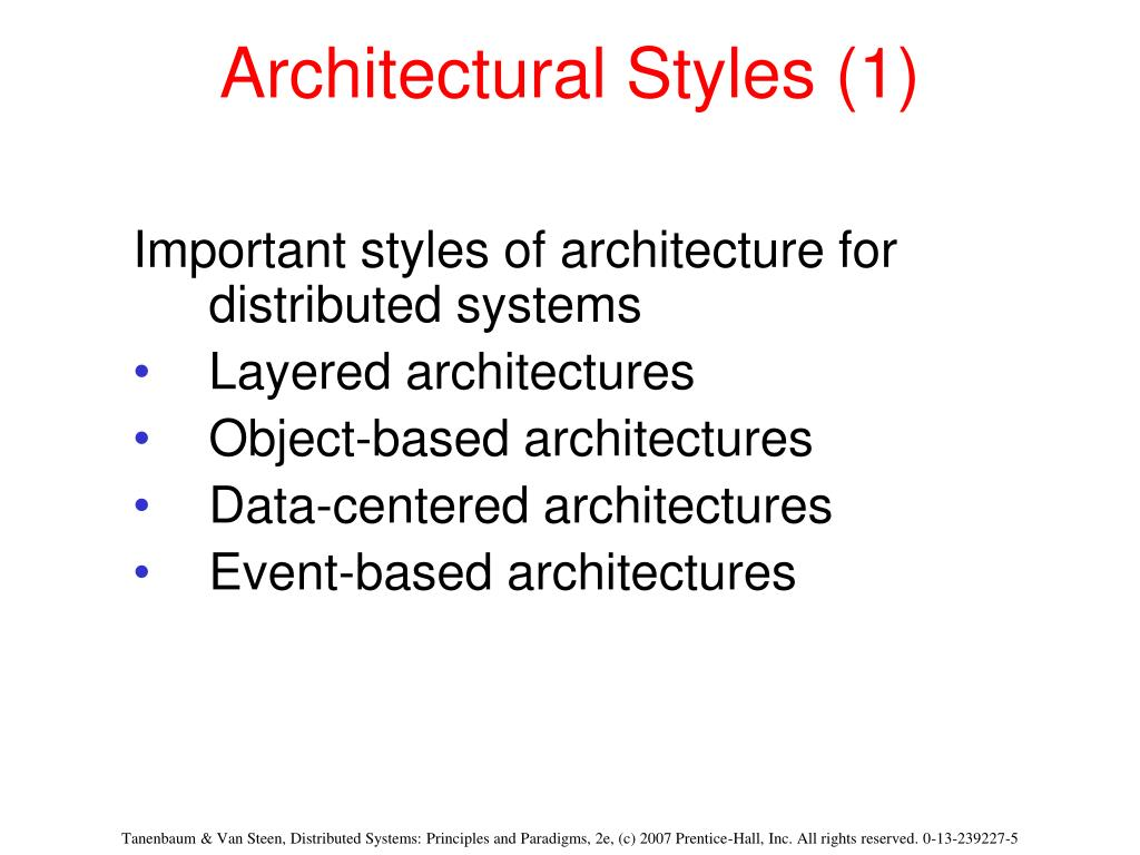 Architectural Styles (1)