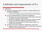 3 definition and measurement of fi 1