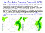high resolution ensemble forecast href