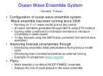ocean wave ensemble system hendrik tolman