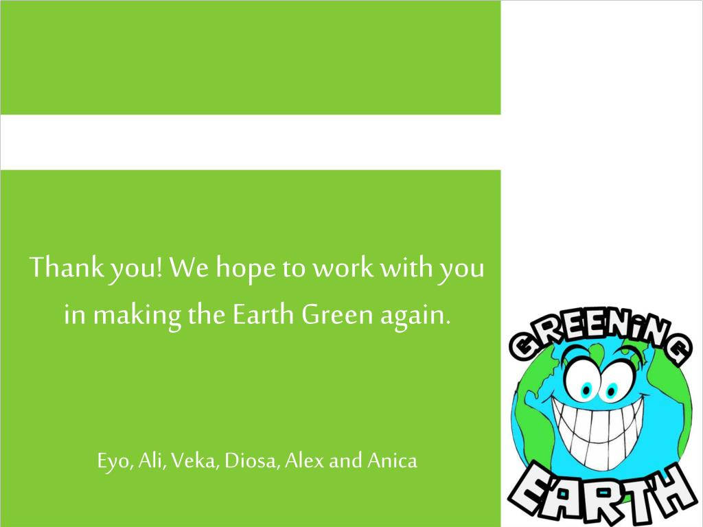 Thank you! We hope to work with you in making the