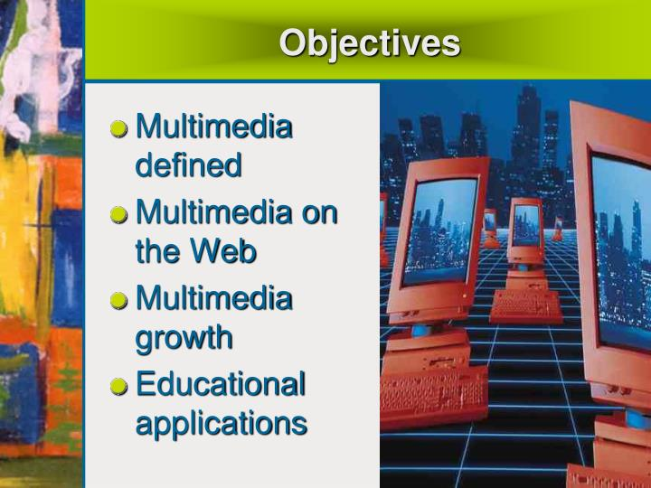 multimedia applications for educational purposes An advantage of using multimedia applications for the physically and learning challenged is ____ all of the above an e-book uses a small, book-sized computer that can hold thousands of pages of text and small graphics.