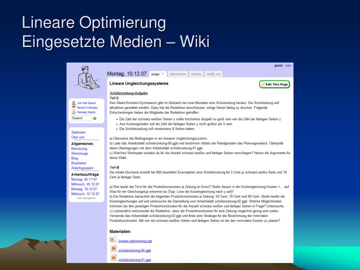 PPT - Lineare Optimierung PowerPoint Presentation - ID:770113