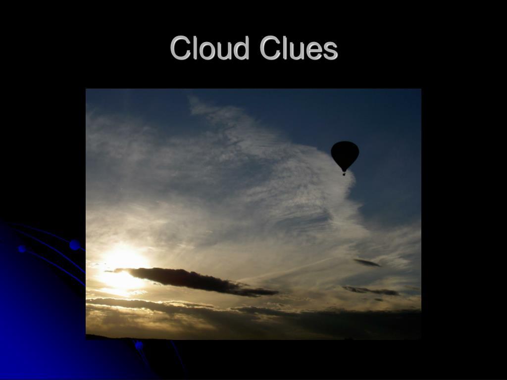 Cloud Clues