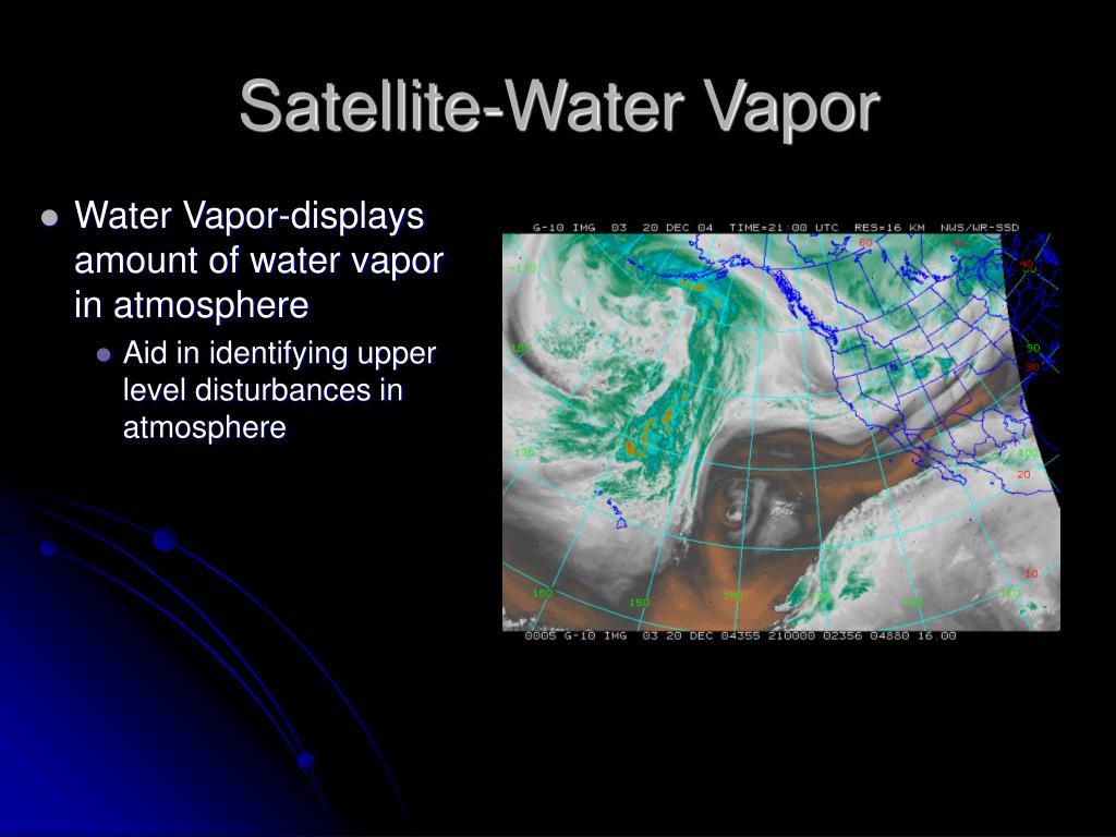 Satellite-Water Vapor