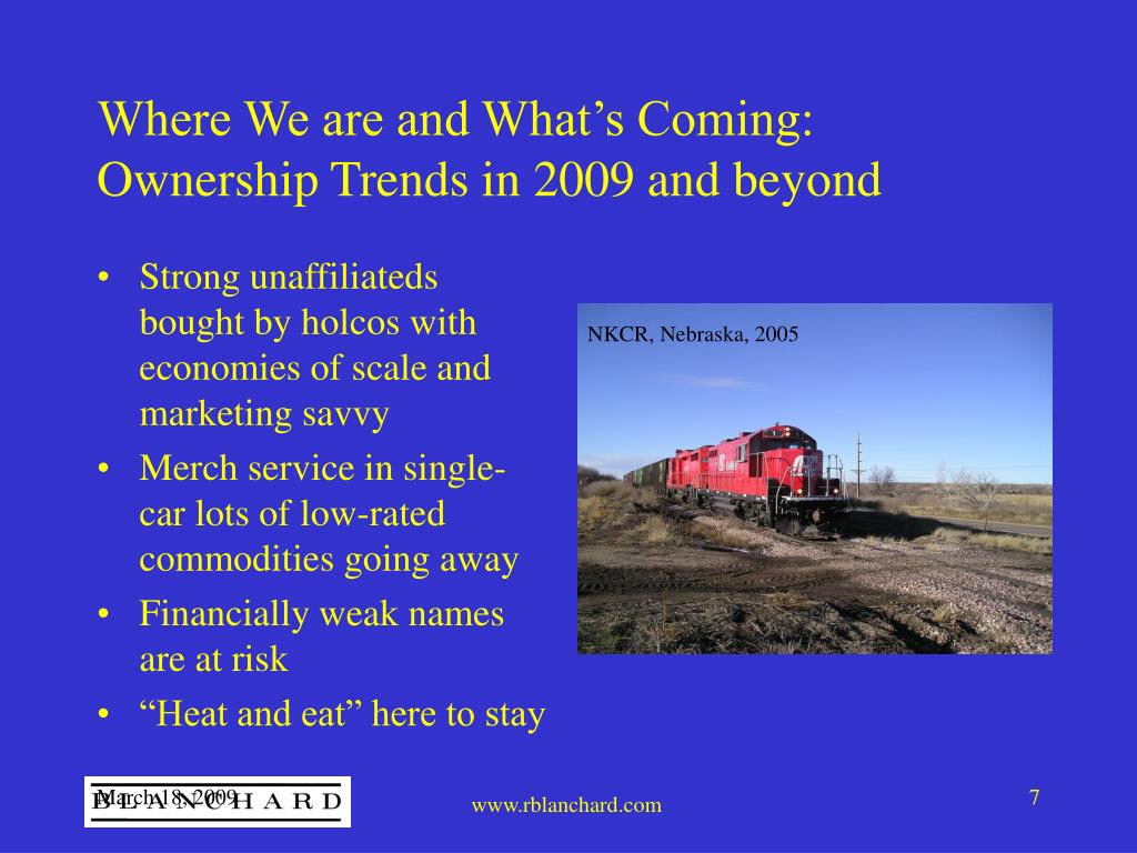Where We are and What's Coming: Ownership Trends in 2009 and beyond