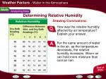 determining relative humidity23