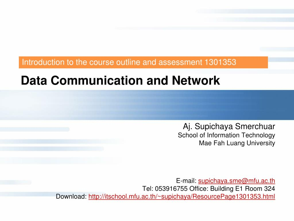 data communication and network l.