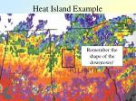 heat island example37
