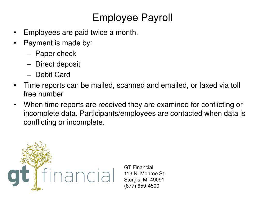 Employee Payroll