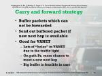 carry and forward strategy
