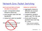network core packet switching