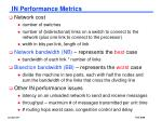 in performance metrics