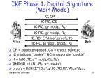 ike phase 1 digital signature main mode