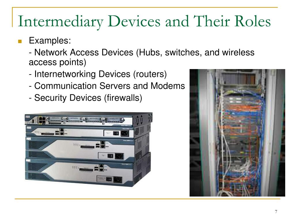 Intermediary Devices and Their Roles