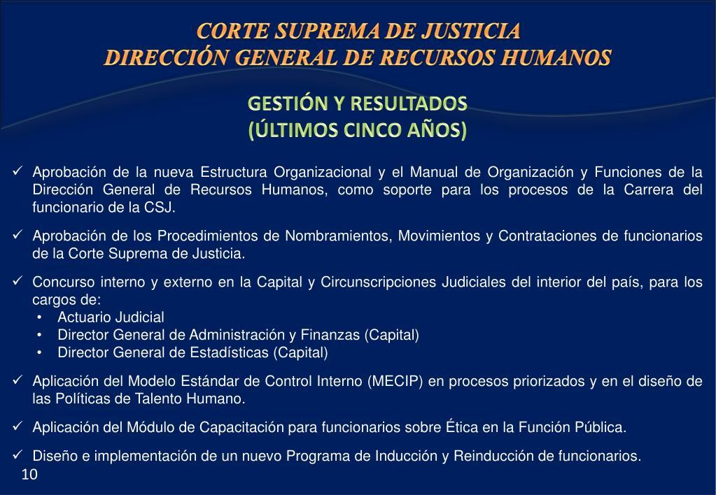 Ppt Dirección General De Recursos Humanos Powerpoint