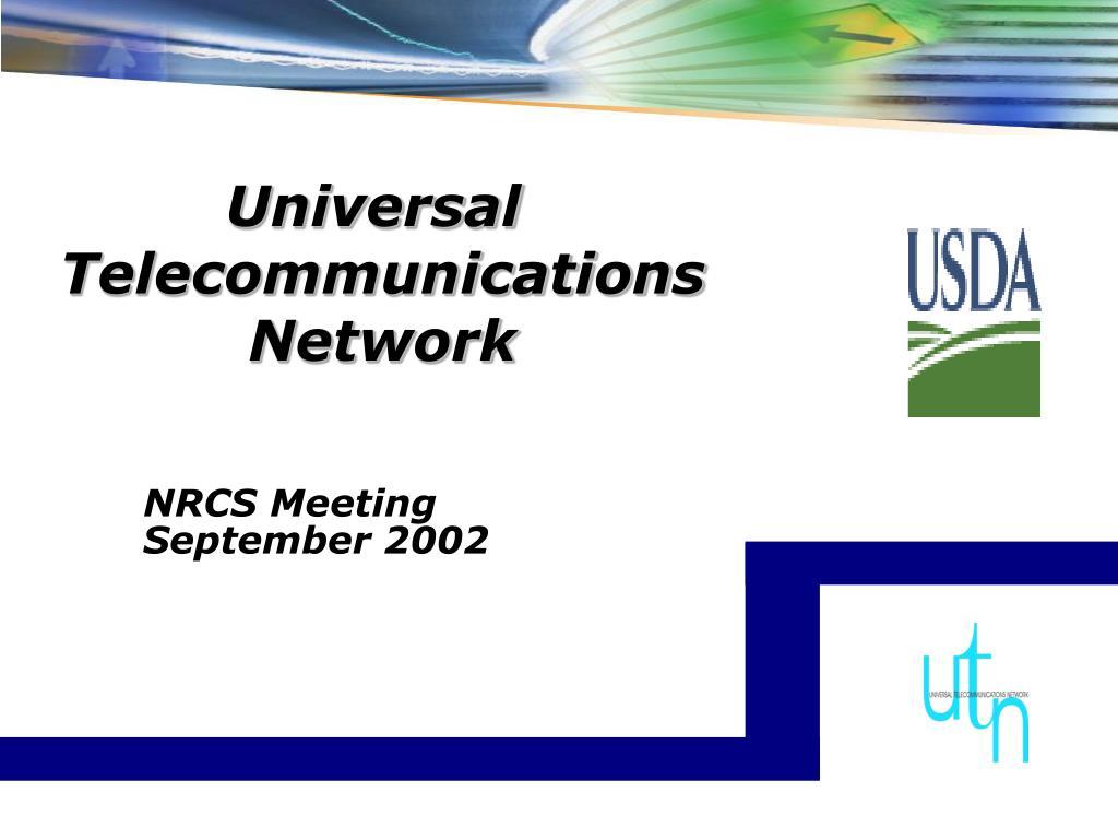 universal telecommunications network
