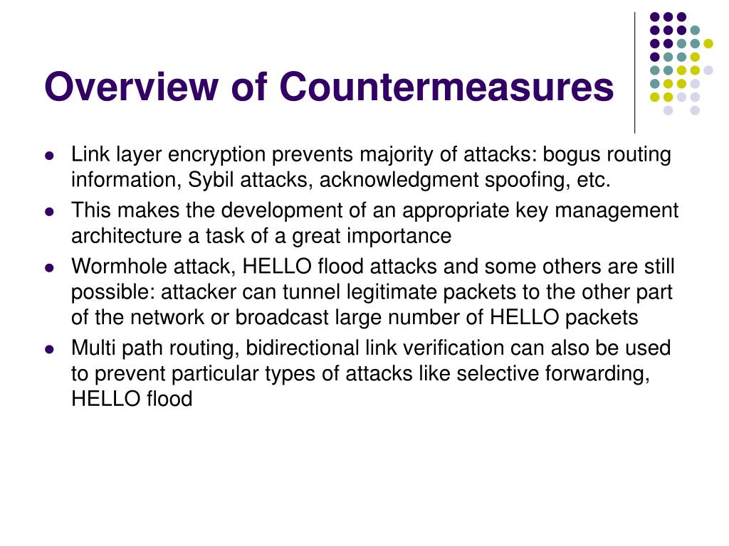 Overview of Countermeasures