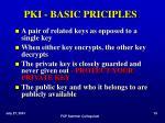 pki basic priciples c