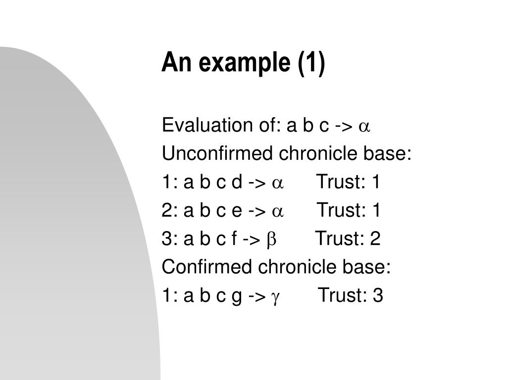 An example (1)