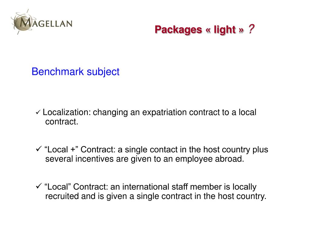 Packages « light »