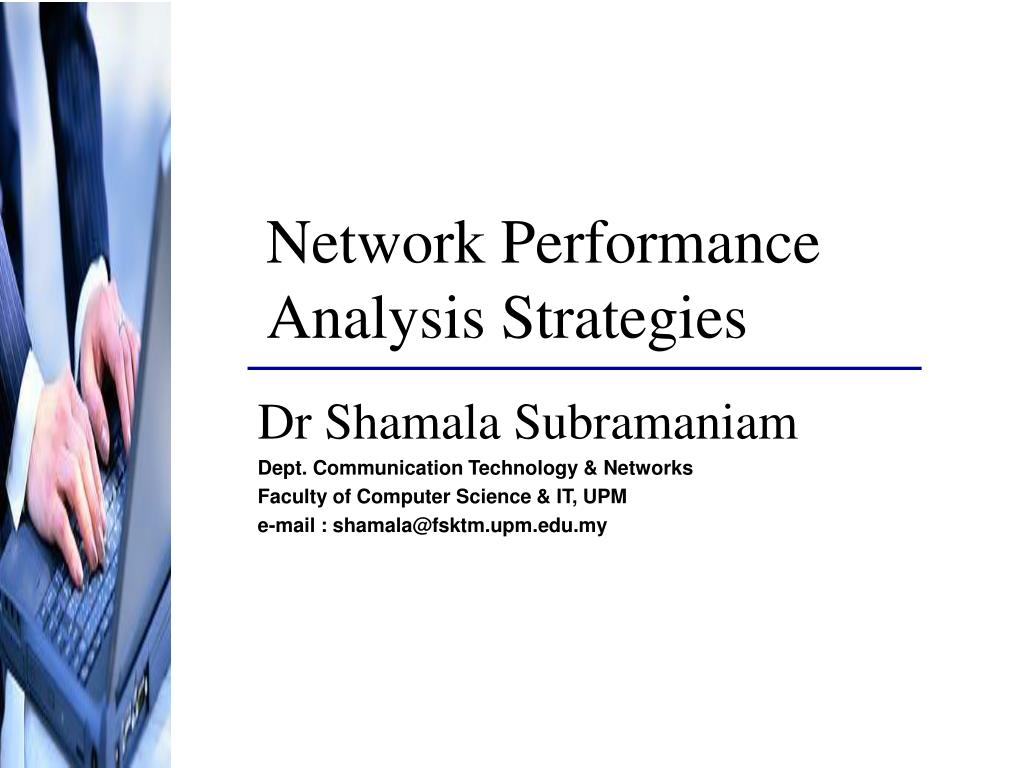 network performance analysis strategies l.