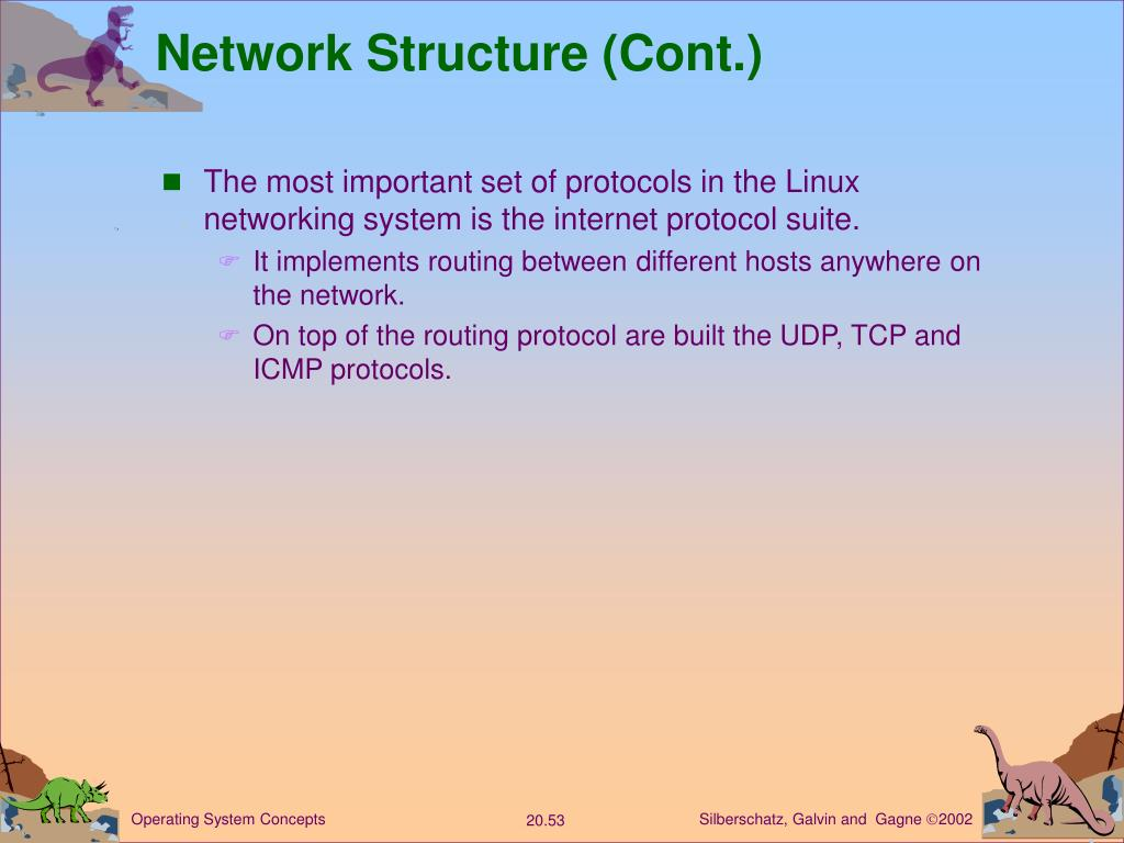 Network Structure (Cont.)