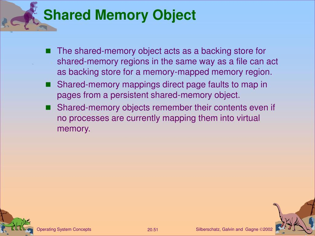 Shared Memory Object
