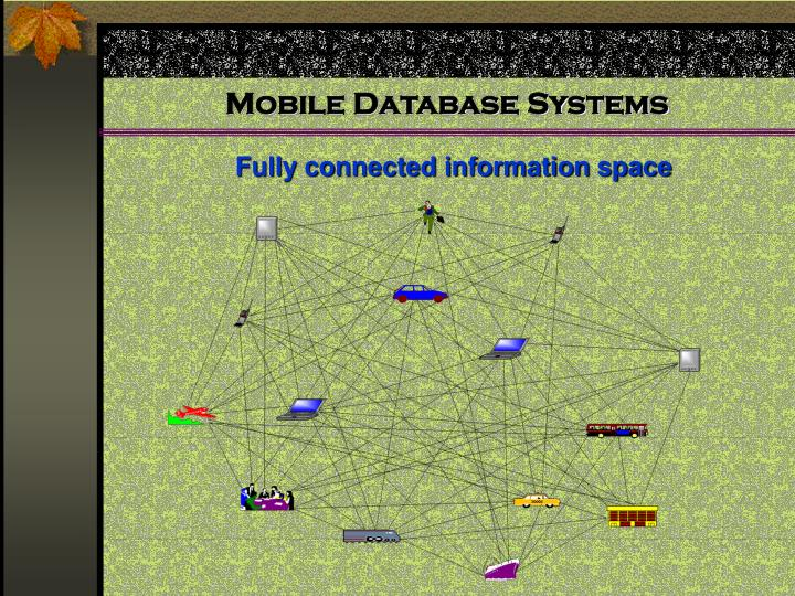 Mobile database systems3