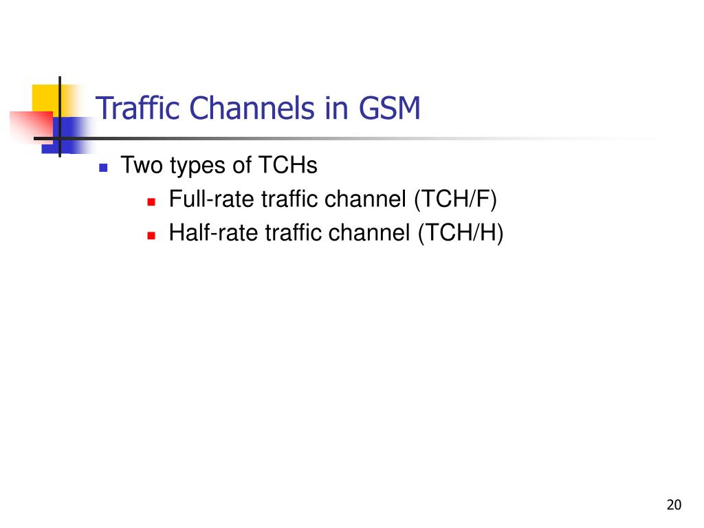 Traffic Channels in GSM