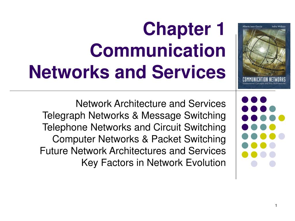 chapter 1 communication networks and services l.