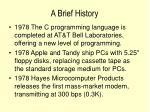 a brief history16