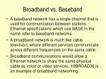broadband vs baseband