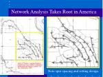 network analysis takes root in america