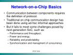network on a chip basics