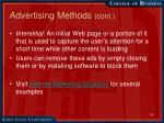 advertising methods cont12