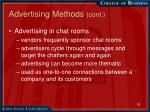 advertising methods cont13