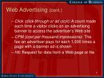 web advertising cont4