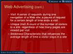 web advertising cont5